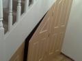 cupboard under balustrade