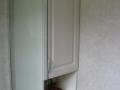 purpose built bathroom cupboard